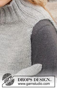 Winter Wisps Set / DROPS 214-49 - Gratis strikkeoppskrifter fra DROPS Design Knitting Patterns Free, Knit Patterns, Free Knitting, Free Pattern, Drops Design, Knit Cowl, Knit Crochet, Knitted Headband, Knitted Hats