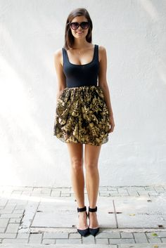 DIY: Dolce & Gabbana inspired lace skirt