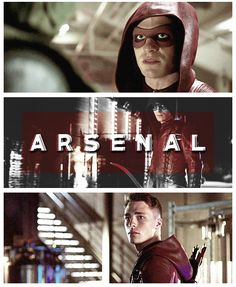 Arrow - Roy Harper Honestly I love Roy. I thought I wouldn't at first but his character has developed so much through season Arrow Cw, Team Arrow, Roy Arrow, Arsenal Arrow, Celebrities Read Mean Tweets, Celebrities Reading, Arrow Tv Series, Cw Series, The Flash