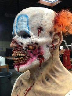 Sick clown make up #specialmakeup