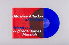 Massive Attack will release their new single 'Dear Friend' on stunning blue vinyl via Battle Box and The Vinyl Factory. Massive Attack, Dear Friend, Album, Friends, Jacket, Twitter, Artwork, Work Of Art, Boyfriends