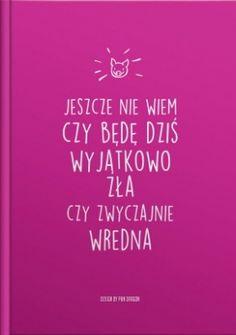 zeszyt dla przebojowej dziewczyny :) Motto, Keep Calm, Texts, Geek Stuff, Lol, Funny, Humor, Words, Quotes