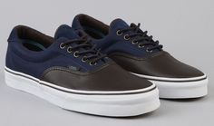 Vans Era 59 - Leather & Cord Pack. I already got an outfit for this, LoL