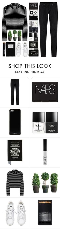 """I know they'll be coming to find me soon But I fear I'm getting used to Being held by you"" by onedirectiondress ❤ liked on Polyvore featuring R13, NARS Cosmetics, Gooey, Fujifilm, Butter London and Aspinal of London"
