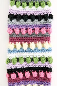 "Free pattern for ""Funky Stripes Leg Warmers""!"