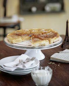 Gestürzte Apfeltarte (Tarte Tatin) - Köstliche Apfelkuchen - [LIVING AT HOME]