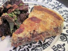 Deli, Lasagna, Quiche, Good Food, Breakfast, Ethnic Recipes, Morning Coffee, Quiches, Healthy Food
