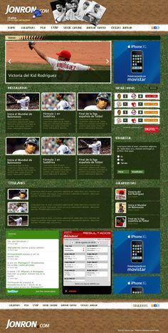 Wordpress Magazine Layout (Jonron.com)