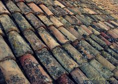 Dubrovnik Roof Top. Rustic. Red. Neutral. Grey. Black. by seardig, $14.00