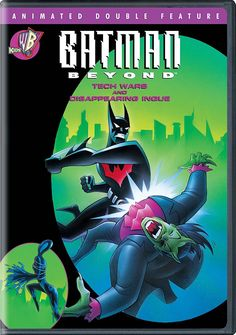 BATMAN BEYOND TECH WARS AND DISAPPEARING INQUE DVD