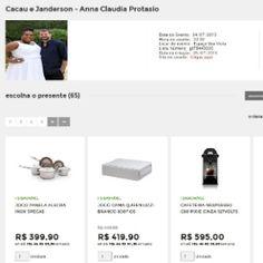 Lista de casamento de Cacau Protásio tem presentes de R$ 12,99 até R$ 5 mil #Anitta, #Atriz, #BrunoGagliasso, #Casamento, #Celebridades, #Dani, #Dj, #Eventos, #Famosos, #Festa, #Fotos, #Funk, #GiovannaEwbank, #IveteSangalo, #Ludmilla, #Maroon5, #PauloGustavo, #RioDeJaneiro, #Show http://popzone.tv/lista-de-casamento-de-cacau-protasio-tem-presentes-de-r-1299-ate-r-5-mil/