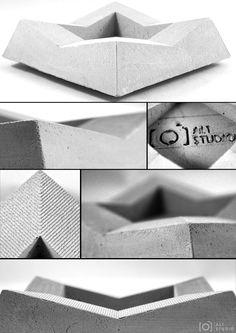 Designer Concrete Ashtray for $10 only
