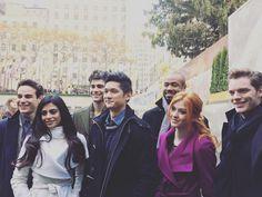 """The #Shadowhunters cast at #WinterWonderlandABCF"""