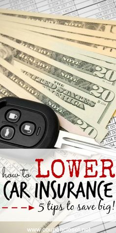 Stop over paying for your Car Insurance Premiums. Here are 5 Tips to Lower your Car Insuarance