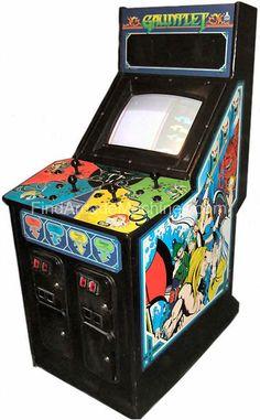 Gauntlet Arcade Machine