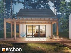 Forest House, Small House Plans, My Dream, Facade, Pergola, House Design, Cabin, How To Plan, Garden
