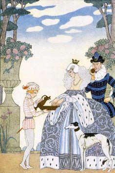 Elizabethan England  -  George Barbier