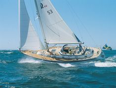 Cruising World's review of the Hallberg-Rassy 42 and 46.