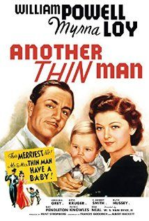 Another Thin Man (1939) The third movie in The Thin Man series.  Nick and Nora now have a baby, and they are called to help an industrialist who thinks he is being threatened with death, he was right because he is murdered.  Nick and Nora have to solve the mystery of who killed him and it may not be the obvious choice.  This series of Thin Man movies is well worth watching.  The dialog is snappy and entertaining!