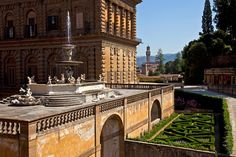 Palazzo Pitti y Jardín de Boboli. Florencia