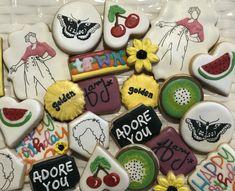 Harry Styles Birthday, 20th Birthday, Party Fashion, Sugar Cookies, Cake Ideas, Pastel, Party Ideas, Tumblr, Artists