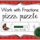 Fraction Pizza Puzzle  This fun and engaging puzzle will help your students understand fractions! Students work with words, numerals, and multiple ...