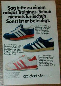 Cracking piece of adidas period advertising showing Koln and Vienna kicks Adidas Og, Adidas Sneakers, Football Casuals, Vintage Shoes, Vienna, Cool Kids, Adidas Originals, Terrace, Period