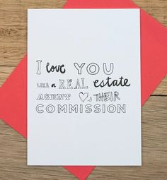 This is probably what #RealEstateAgents will be saying to their dates tonight! 😝 #HappyValentines