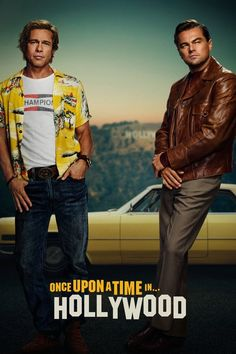 Leonardo DiCaprio & Brad Pitt's 'Once Upon a Time in Hollywood' Poster Released!: Photo Check out Leonardo DiCaprio and Brad Pitt on the poster for their upcoming Quentin Tarantino film, Once Upon a Time in Hollywood. Leonardo actually debuted the poster… Luke Perry, Donald Glover, Charles Manson, Clifton Collins Jr, Leonardo Dicaprio, Brad Pitt, Hollywood Poster, Hollywood Actor, Men In Black