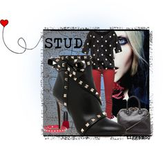 """STUD"" by Brittany on Polyvore"