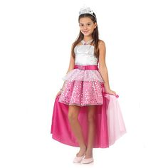 Fantasia Barbie Rock in Royals Luxo P - Sulamericana Royals, 10th Birthday, High Low, Ballet Skirt, Summer Dresses, Skirts, Vintage, Barbie Costumes, Magazine
