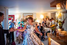 Bride and groom first dance jazz dancing photograph with wedding guests watching at intimate wedding by one thousand words photography Wedding First Dance, Wedding Day, Corfe Castle, Photography Words, Prom Dresses, Formal Dresses, Jazz, Dancing, Groom