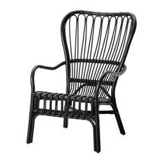 STORSELE Sessel mit hoher Rückenlehne IKEA Handarbeit; weiche, runde Formen und schön detaillierte Muster. Jedes Produkt ist ein Unikat.