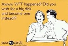 hahaha. Must be what happened