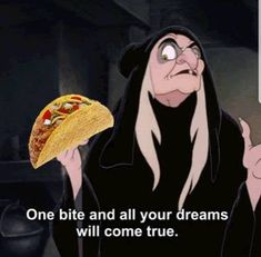 Tacos make your dreams come true. Taco Love, Lets Taco Bout It, My Taco, Best Tequila, Tacos And Tequila, Tuesday Humor, Taco Tuesday, Funny Celebrity Memes, Happy Taco