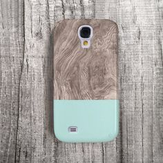 COLOR BLOCK Galaxy S4 Case Samsung S3 Case wood by casesbycsera, $19.99