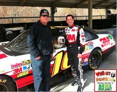 with NASCAR driver Greg Biffle #16