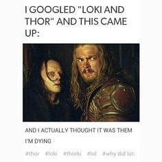 I'm actually offended that somebody mistook GRIMA WORMTONGUE for Loki. Putting that aside, this is funny.