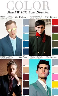 TREND COUNCIL F/W 2014 #COLOR