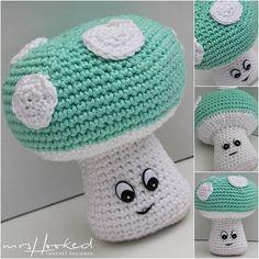 Crochet Faces, Crochet Baby Toys, Crochet Food, Crochet For Kids, Crochet Crafts, Crochet Projects, Knit Crochet, Amigurumi Free, Amigurumi Patterns