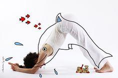 maitri dauphin yoga by pépée ardha sirshasana Yoga Nidra, Baby Yoga, Yoga Bebe, Motor Planning, Yoga For Stress Relief, Relaxing Yoga, Yoga For Kids, Yoga Tips, Yoga Poses