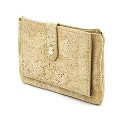 Natural cork all natural women vegan wallet wallet card holder Cork-leather, handmade Clutch, Bow Ties, Wallet, Nature, Butterfly, Purses, Diy Wallet, Purse, Bowties