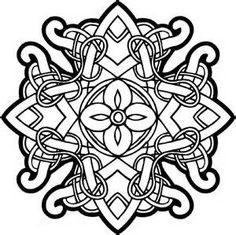 more celtic coloring pages for adults celtic knot coloring pages free ...