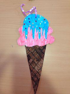 Summer Camp- Ice Cream Cones