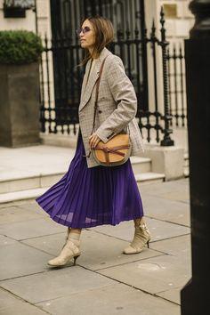 NYLON · Our Favorite Looks From The Streets Of London Fashion Week #londonfashionweeks,