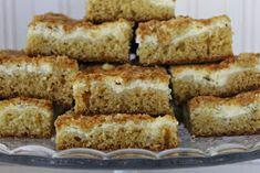 Tarun Taikakakut: Sitruunarahkapiirakka muru-päällisellä (pellillinen) Sweet Pie, Sweet Recipes, Banana Bread, French Toast, Baking, Breakfast, Desserts, Food, Pastries
