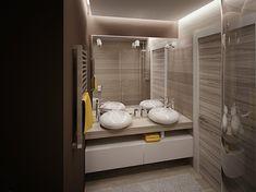 Оригинальный дизайн 3-комнатной квартиры с 2-мя санузлами