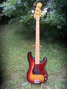 1973 FENDER Precision Bass Guitar - Pro owned. Used on 100s of recordings -  ebay.com  -  $1,850.00