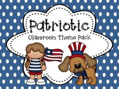 Start the year off right with our Patriotic Theme Classroom Pack!  This pack includes the following to decorate your classroom and get ready for a great school year - ALL types of pages listed below are editable or just print as is! (please download the preview to see the table of contents):*Name Plates*Classroom Supply labels*Classroom Helpers*Birthday posters*Calendar Months and pieces*Table Numbers (editable to personalize names) and More!