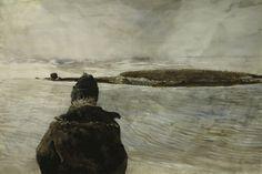 Davis Straits by Andrew  Wyeth (1917-2009)